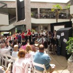 YAT performs The Taming of the Shrew at Highland Village on May 14, 2016