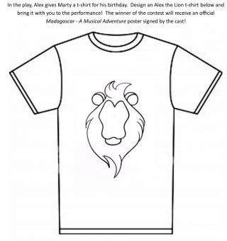 Download T-shirt Coloring Contest Form HERE