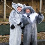 #8. L to R: Chris Roebuck as King Julien and Jenn Harris as Maurice the Lemur in Madagascar--A Musical Adventure