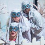 The Selfish Giant: Frost (Jake Bell), Snow (Hope Prybylski), and Northwind (LaSharron Purvis)