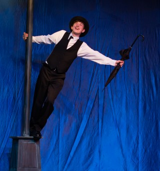 Eric Narbo as Don Lockwood in the July 14 & 16 cast of Singin' in the Rain, Jr.
